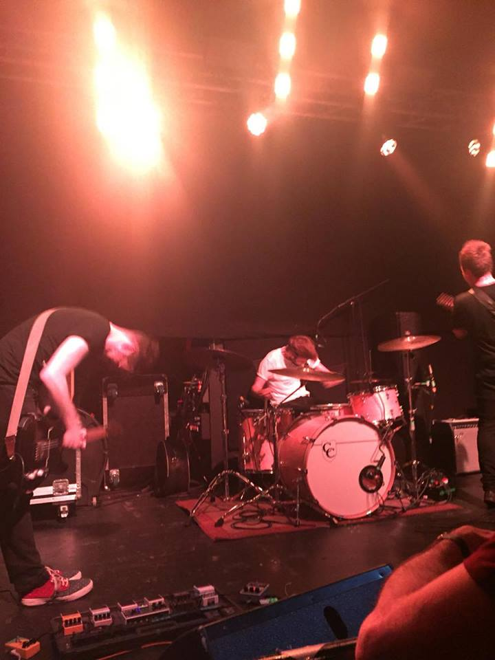An intense night was provided by We Were Promised Jetpacks