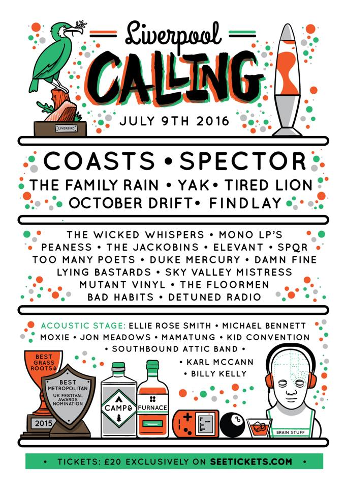 Liverpool Calling Poster