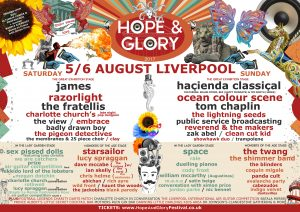 Hope and Glory reveal stage breakdowns