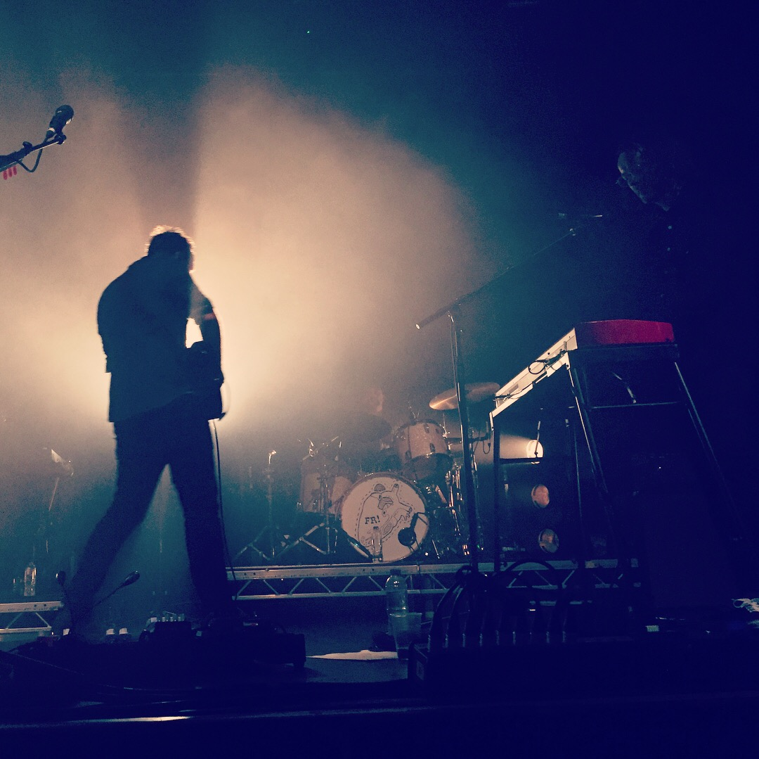Frightened Rabbit @ O2 Ritz, Manchester. Photo via author's Instagram.