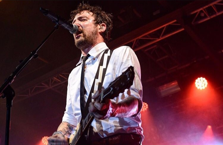Frank Turner's new album Be More Kind, is out on May 4th. Photo by Georgia Flynn.