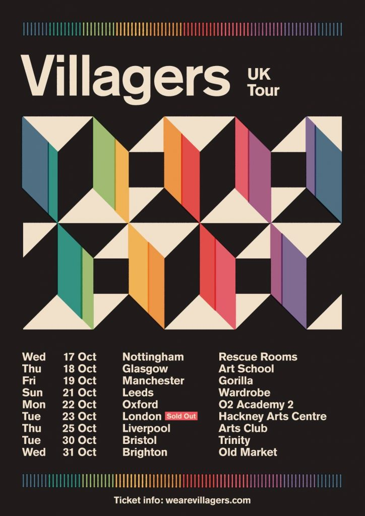 Villagers UK Tour 2018