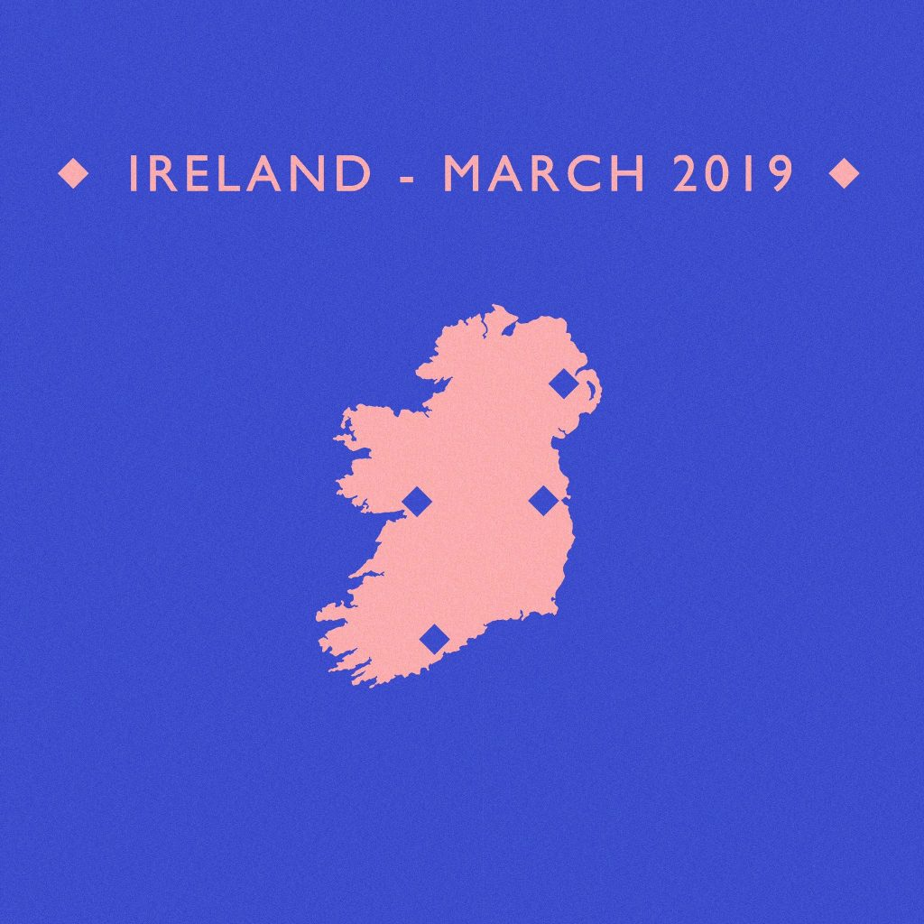 White Lies Ireland tour