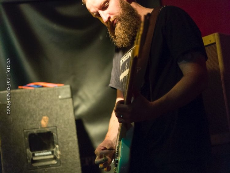 Guitarist Evan McCarthy of Dott. Photo by Jina Estrada.