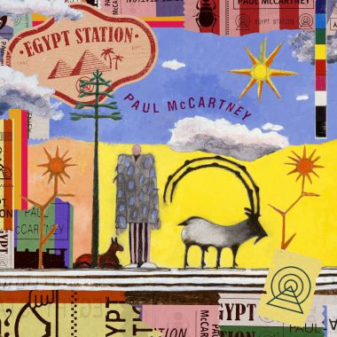Paul McCartney's Egypt Station artwork