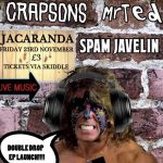 Crapsons and Mr. Ted launch gig