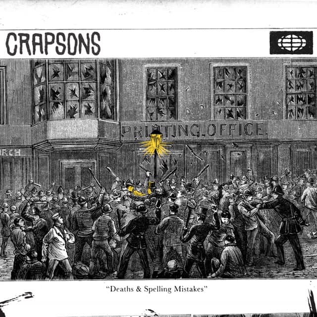 Crapsons debut EP, Death and Spelling Mistakes.