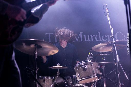 The Murder Capital drummer, Diarmuid Brennan. Photo by Jina Estrada.