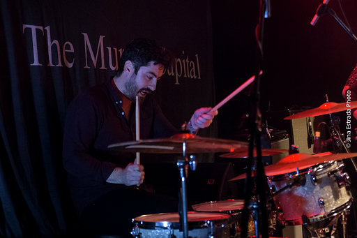 Silverbacks drummer, Gary.