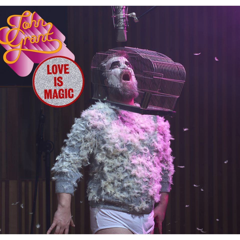 Artwork for Love is Magic by John Grant.Artwork for Love is Magic by John Grant.