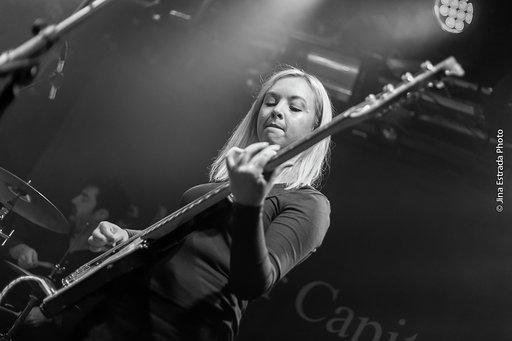 Bass player Emma, of Silverbacks