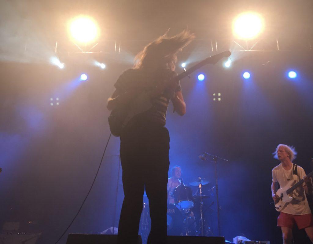 Blaenavon during their set at Benicàssim Festival in 2017.