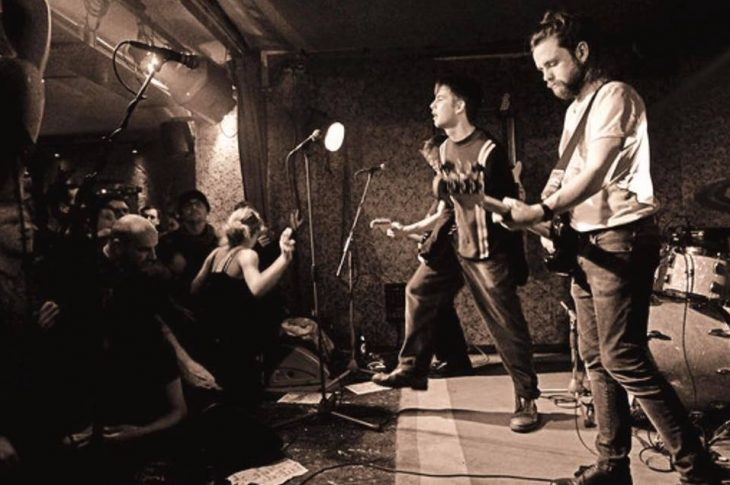 Fontaines D.C. were relentless during their show in Berlin. Photo by Töff Malstroem, Berlin.