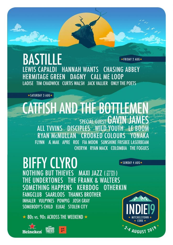 Indiependence Festival 2019 Line Up