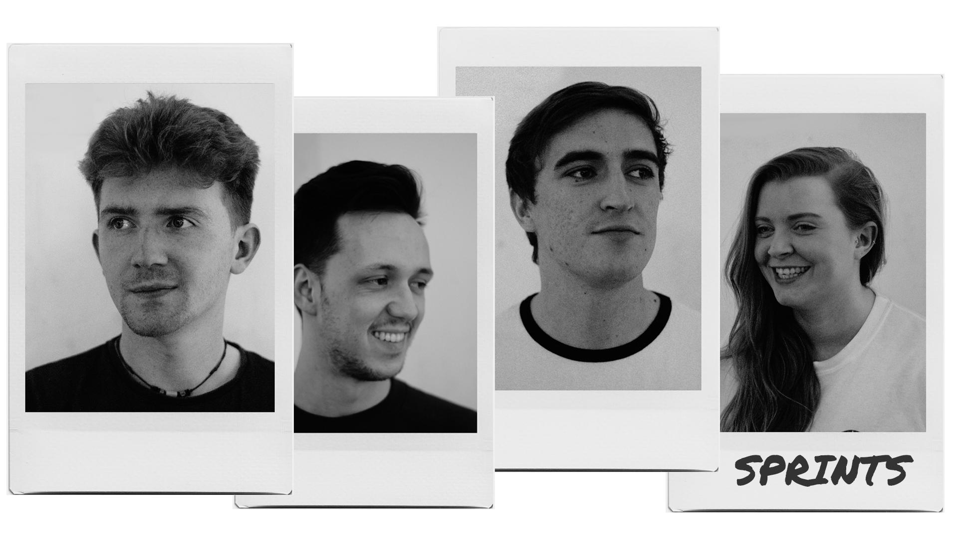 Dublin four-piece band, Sprints
