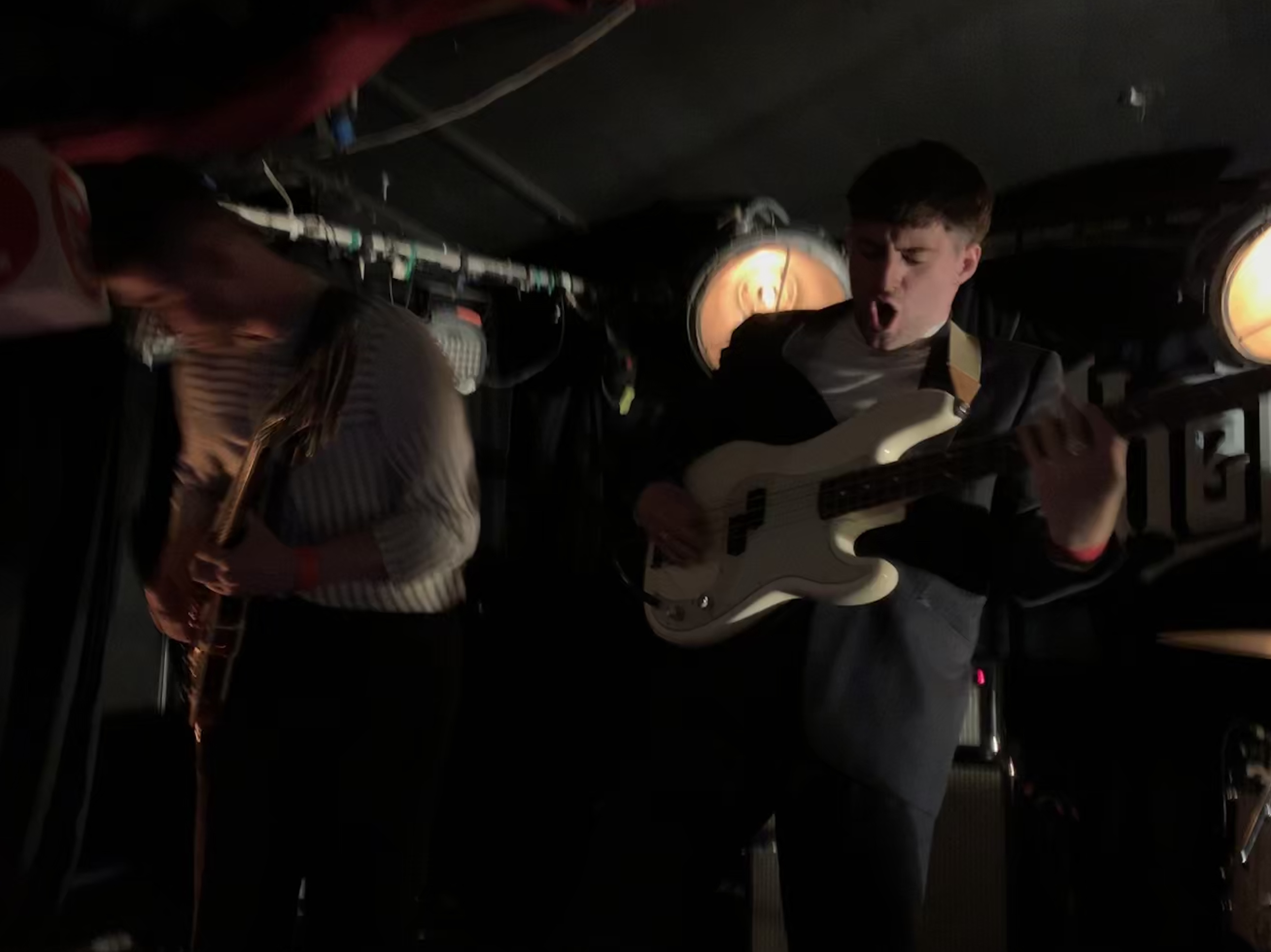 The Murder Capital @ Whelan's 11/05/2019. Photo by author.