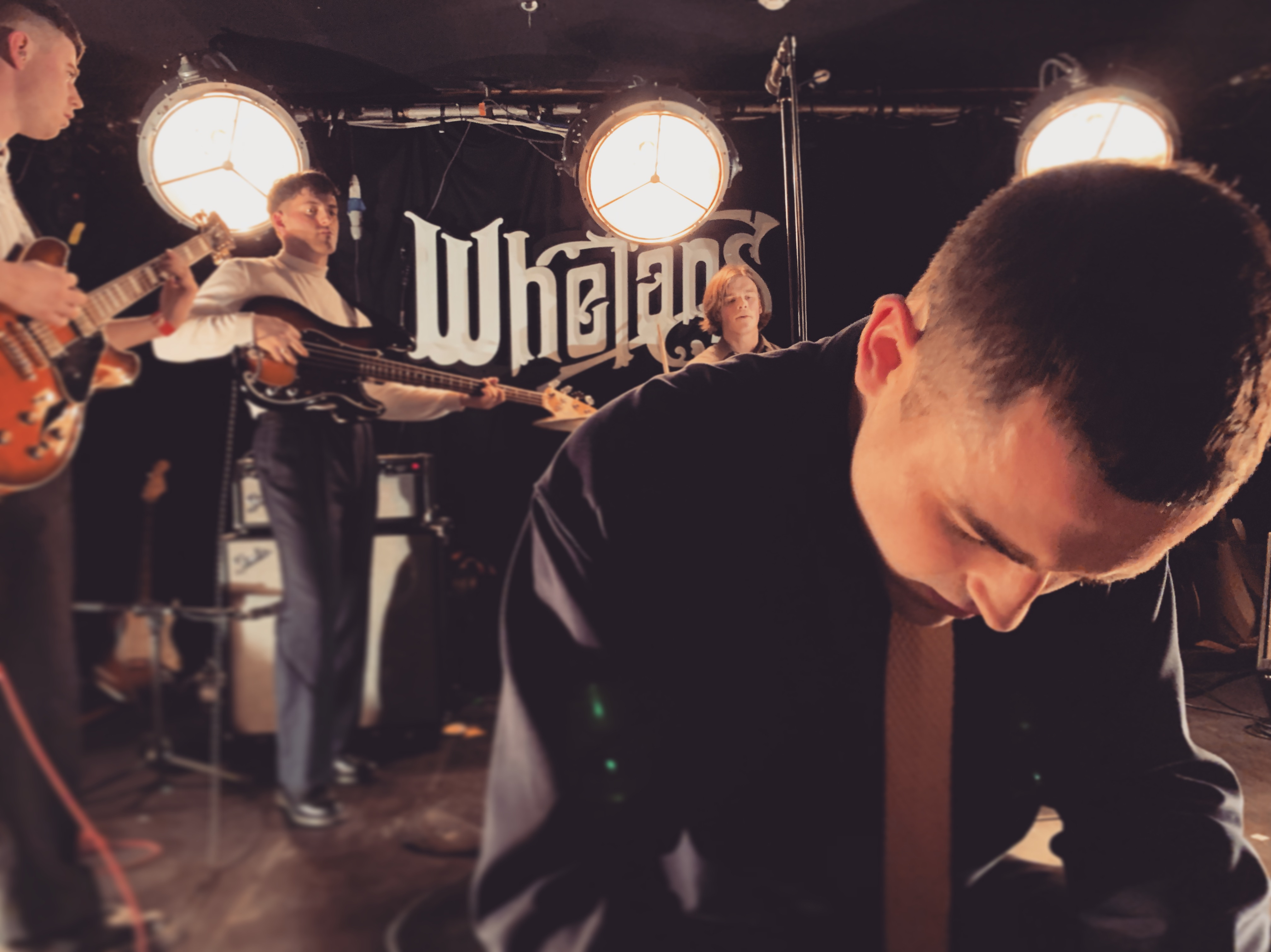 The Murder Capital @ Whelan's Dublin, 11/05/2019. Photo by author.