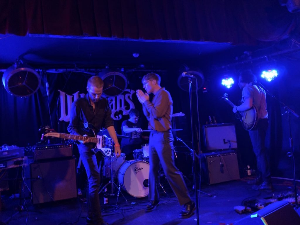 Melts supporting The Murder Capital @ Whelan's 11/05/2019. Photo by author.