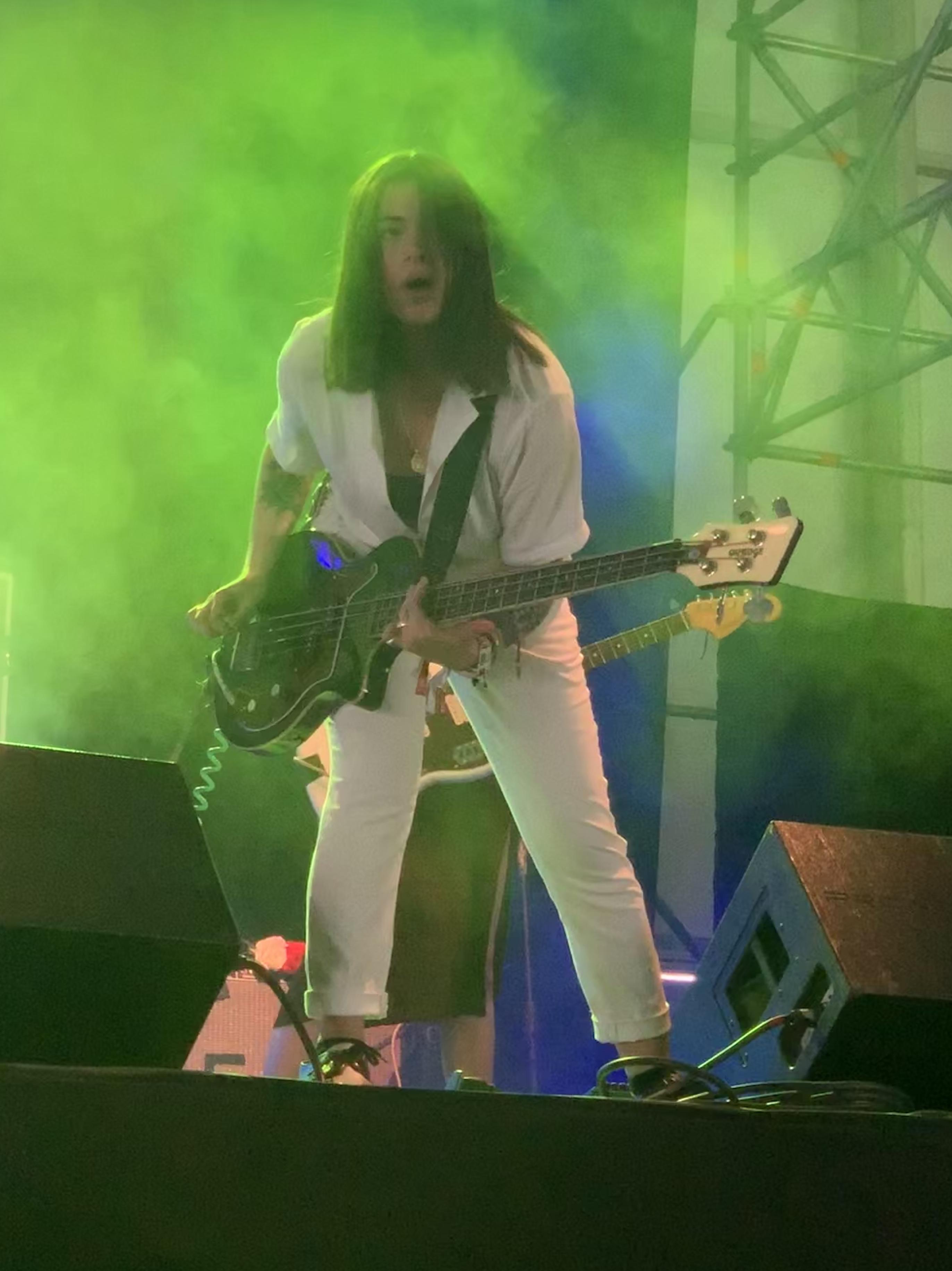 Valeras lead singer and bassist Rose Yagmur