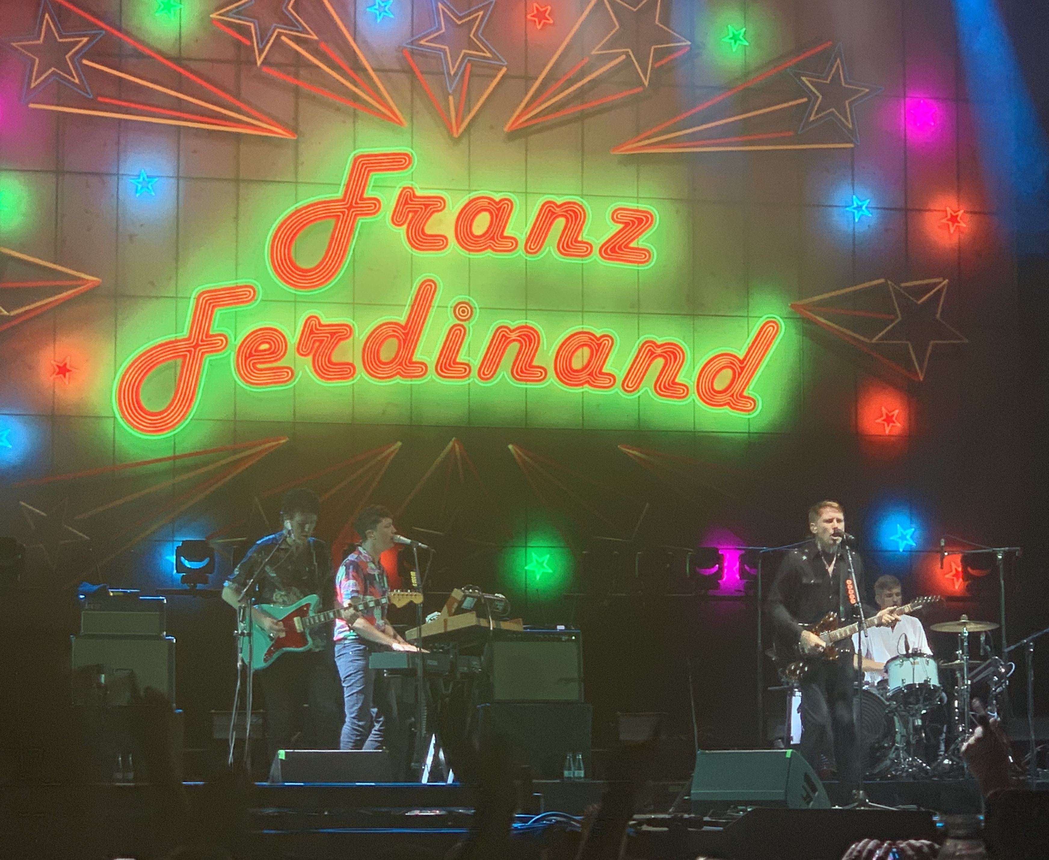 Franz Ferdinand brought out the hits to the Las Palmas Stage.