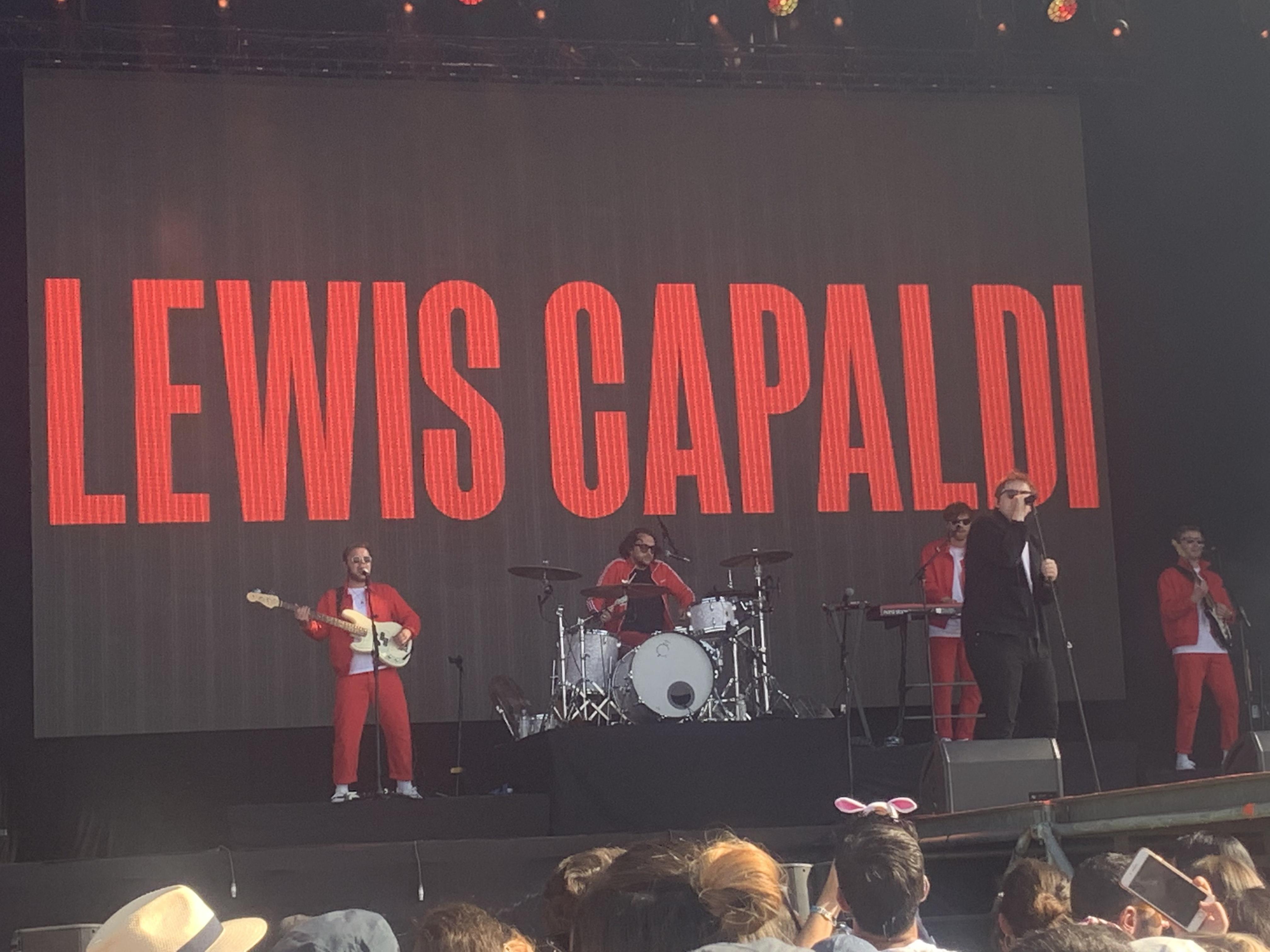 Lewis Capaldi @ Mad Cool Festival, Madrid.