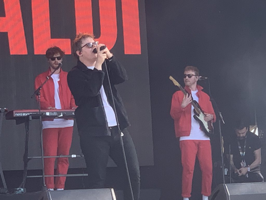 Lewis Capaldi opening the festival on the Communidad de Madrid Stage.