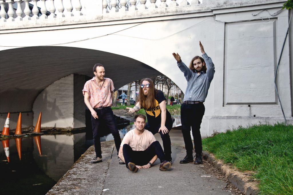 Dublin funky punk band Munky.