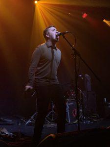 Factory frontman, James Shelley @ Arts Club, Liverpool 13/09/2019.