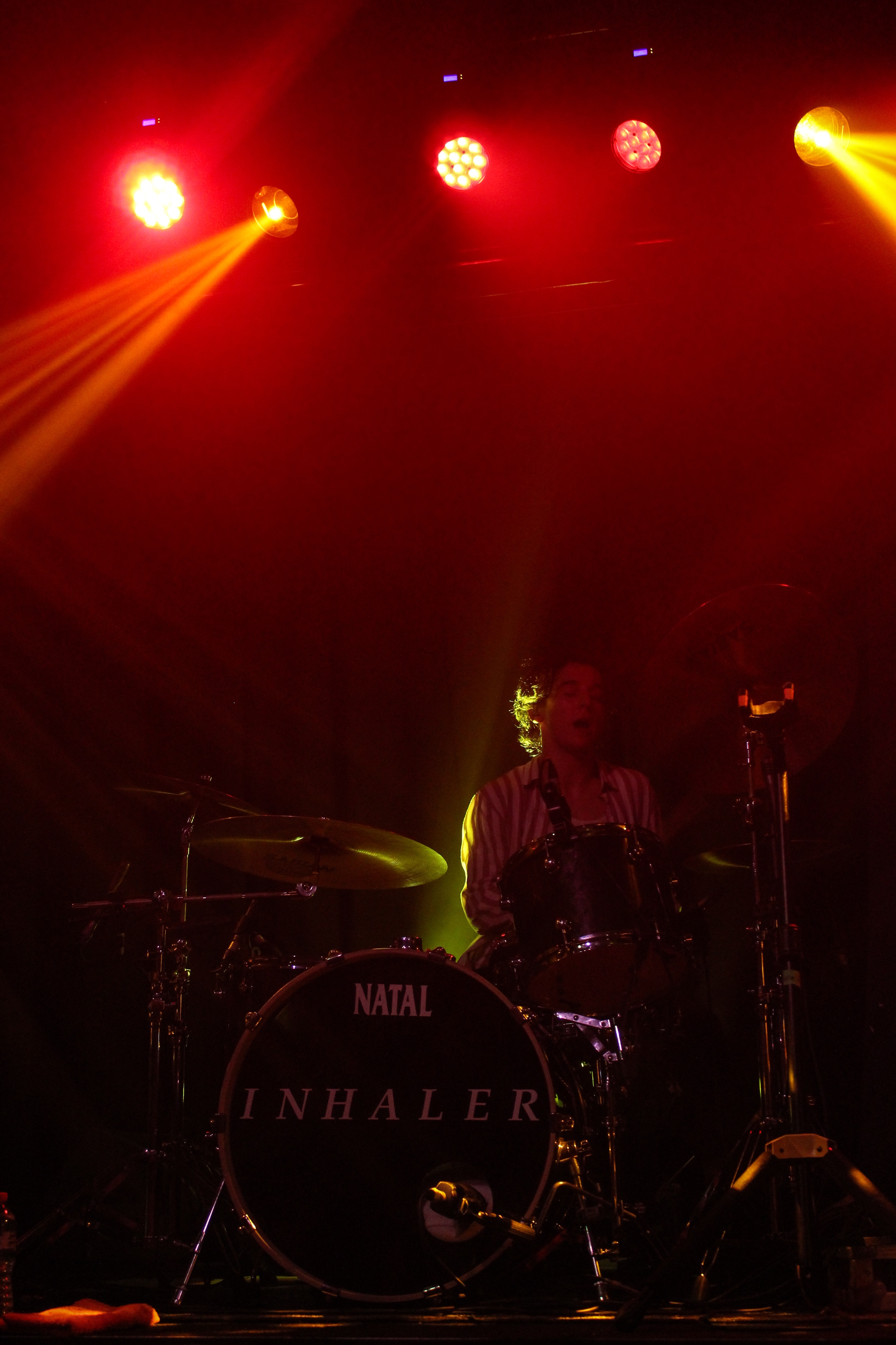 Inhaler drummer, Ryan McMahon. Photo by Leanne Gabriel.