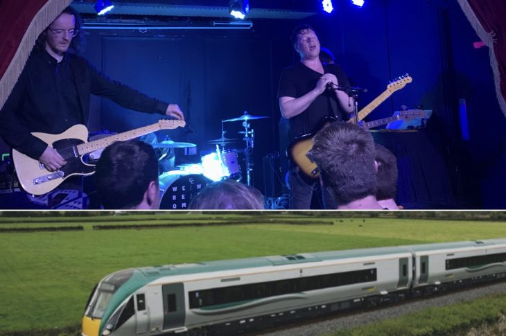 We Were Promised Jetpacks @ The Workman's Club, Dublin & Irish Rail