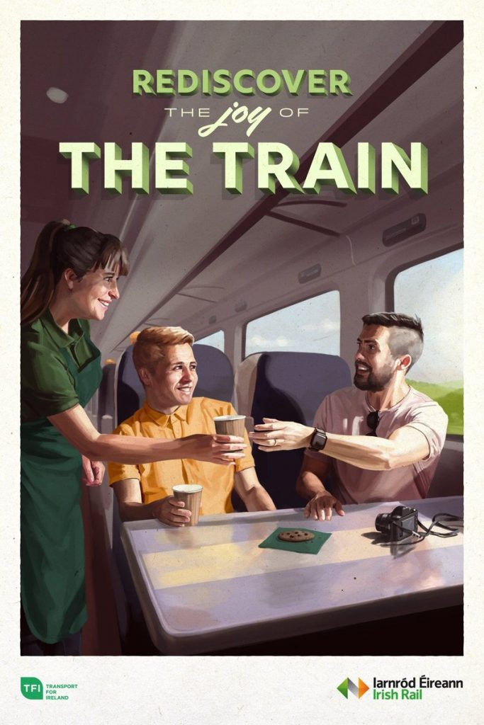 Rediscover the joy of the train - Irish Rail