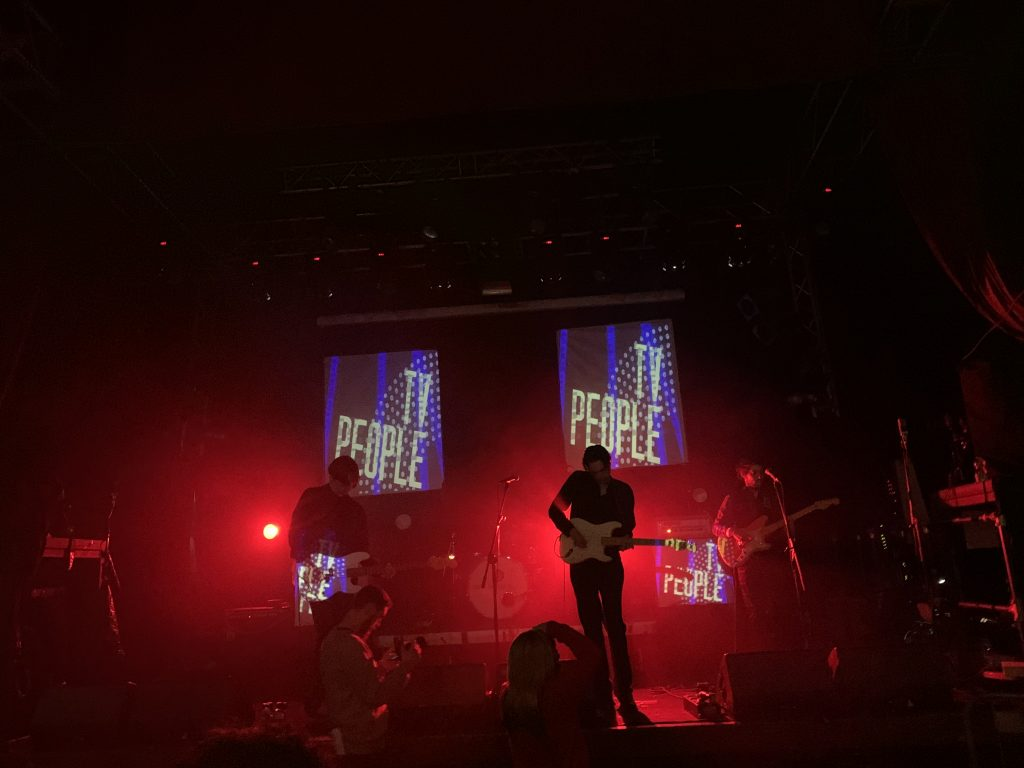 TV People during their set at Tilt #5 @ The Button Factory 18/02/2020