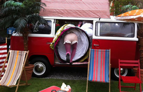Judges want people to get weird and wacky with their ideas for their Art Caravan.
