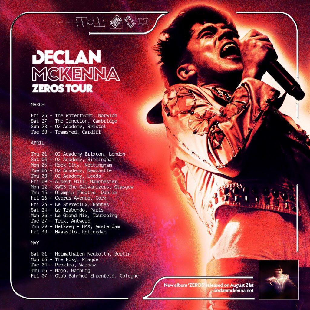Declan McKenna European Tour 2021